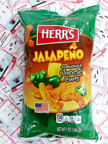 Herr's Jalapeno Cheese Curls