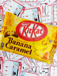 Kitkat Banana Caramel Limited Edition