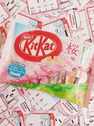Kitkat Sakura Limited Edition