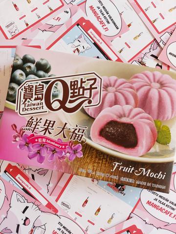 Fruit Mochi Mustikka