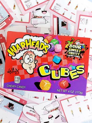 Warheads Cubes