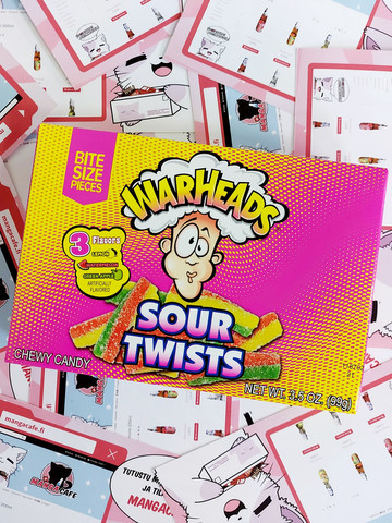 Warheads Sour Twists