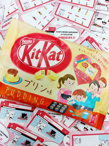 Kitkat Pudding Limited Edition