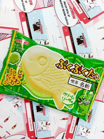 Puku Puku Tai Cream Sooda - Melon Cream Soodavaahtovohveli