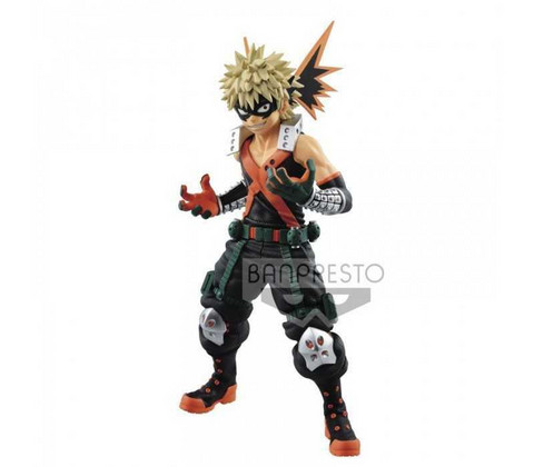 My Hero Academia: Katsuki Bakugou Texture -Figuuri