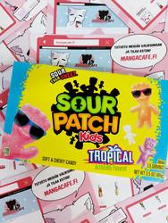 Sour Patch Kids Tropical Box - kirpeät hedelmämakeiset