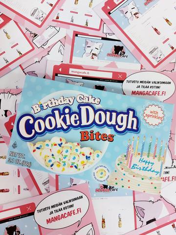 Birthday Cake Cookie Dough Bites