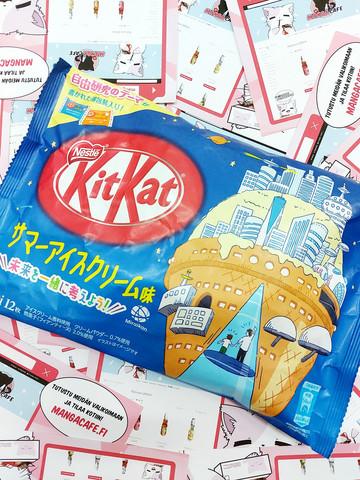 Kitkat Summer Ice Cream Limited Edition