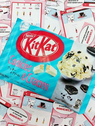 Kitkat Cookies & Cream Cream Limited Edition