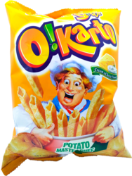 O!Karto Cream & Cheese - perunasnack
