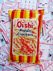 Oishi Prawn Crackers - Katkarapusnack