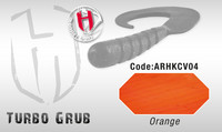 Turbo Grub 14cm Orange