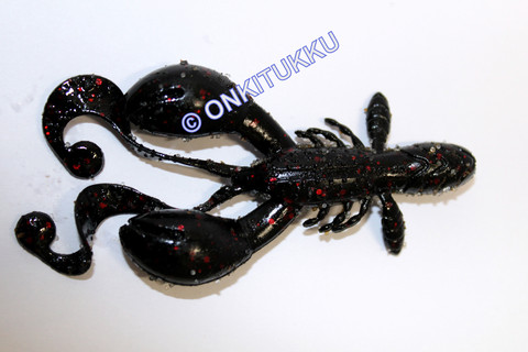 Rugby Craw 3 Black Red Flake