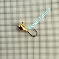 Volframi-mormuska 5mm #8 lenkki kulta
