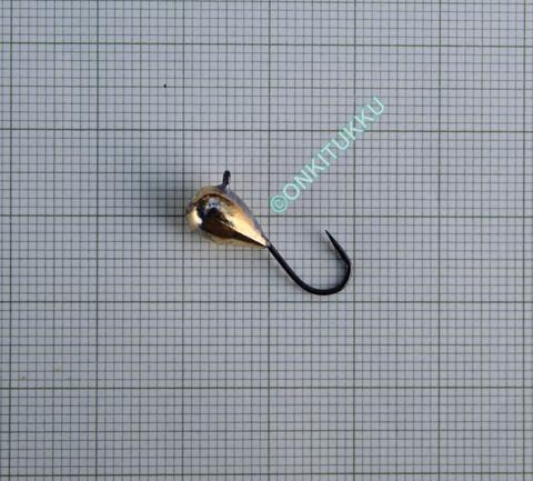 Volframi-mormuska 6mm #6 lenkki kulta