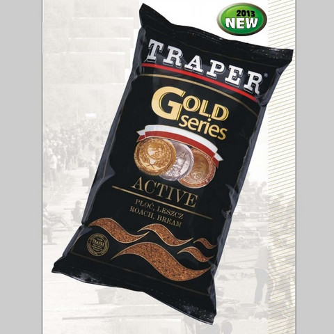 Gold Series Active Black (Eloisa särki- ja lahnamäski) 1kg
