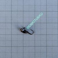 Volfram Porin kilpa 6mm #8 lenkki musta