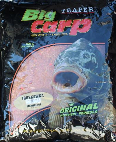Big Carp Strawberry Mansikantuoksuinen mäski 2,5kg
