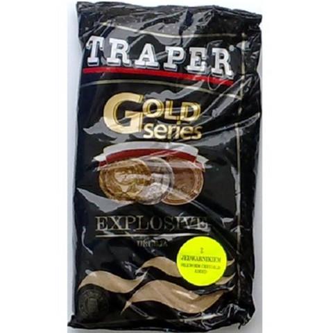 Gold Series Explosive ruskea salakkamäski 1kg