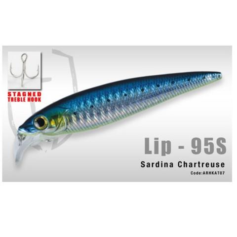 Lip 95S colour Sardina Chartreuse