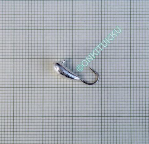 Volfram Porin kilpa 6mm #8 lenkki hopea