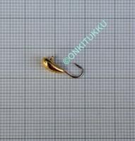 Volfram Porin kilpa 5mm #12 lenkki kulta