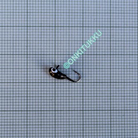 Volfram Porin kilpa 4mm #16 lenkki musta