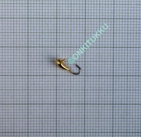 Volfram Porin kilpa 3mm #20 lenkki kulta