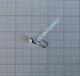 Volfram Porin kilpa 4mm #16 lenkki hopea