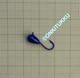 Volframi-mormuska 5mm #8 lenkki kromi
