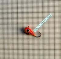 Volframi-mormuska 5mm #8 lenkki maali