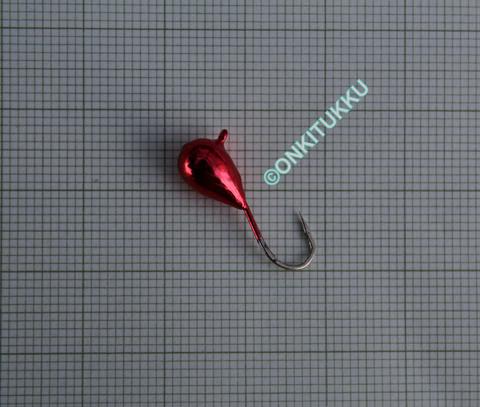 Volframi-mormuska 6mm #6 lenkki kromi