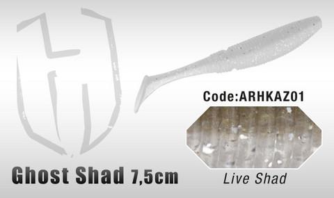 Ghost Shad 7,5cm 8kpl, Live Shad