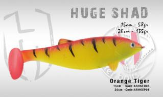 Huge Shad 20cm 135g, Orange Tiger