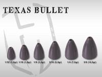 Texas Bullet rig luotipää 1,0g 10kpl