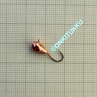 Volframi-mormuska 5mm #8 lenkki kupari