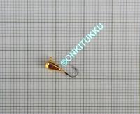 Volframi-mormuska 3mm #16 lenkki kulta