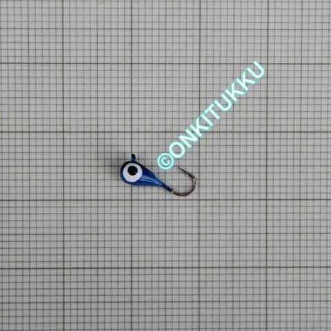 Volframi-mormuska 3mm #16 lenkki sininen