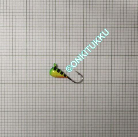 Volframi-mormuska 3mm #16 lenkki raidal.