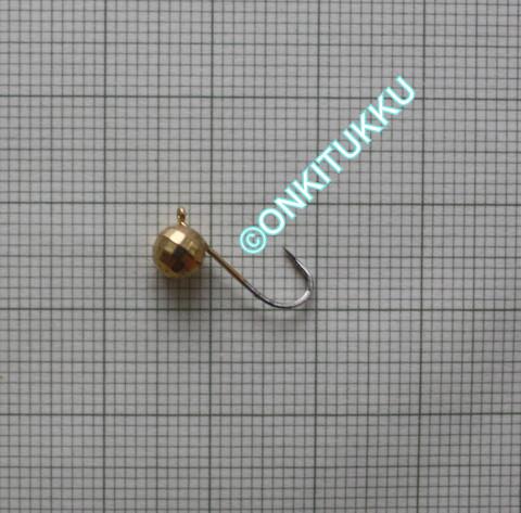 Volframi Prisma 6mm #6 lenkki kulta