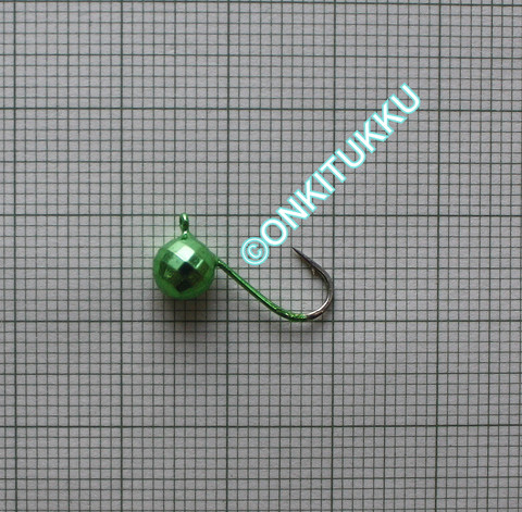 Volframi Prisma 6mm #6 lenkki vihreä