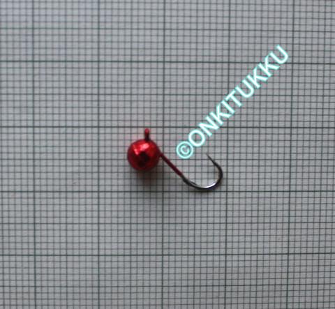 Volframi Prisma 5mm #8 lenkki punainen