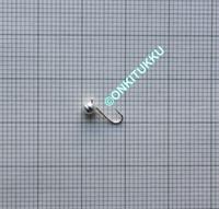 Volframi Prisma 4mm #10 lenkki hopea