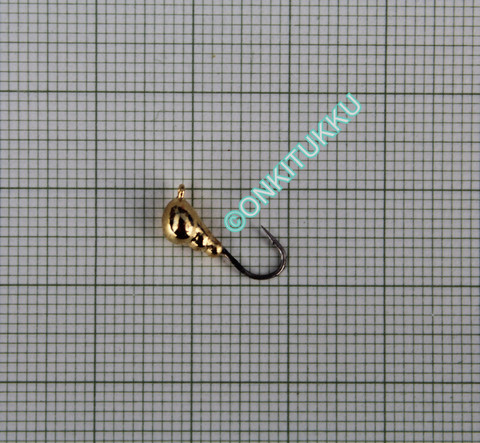 Volframi muurah. 4mm #10 lenkki kulta
