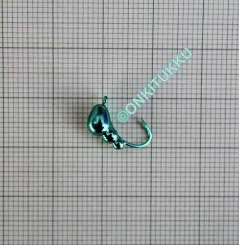 Volframi muurah. 5mm #6 lenkki vihreä