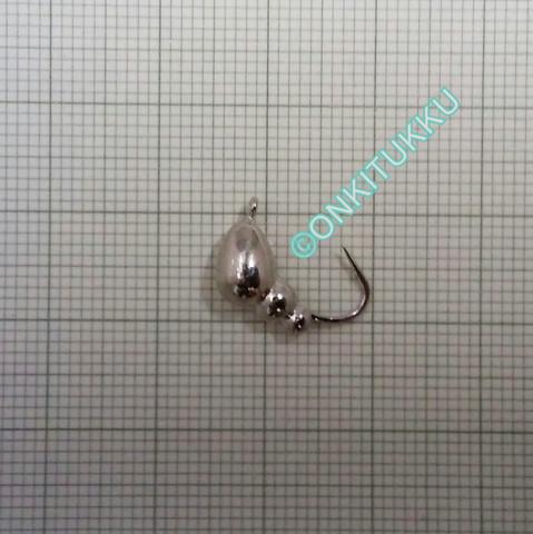 Volframi muurah. 6mm #4 lenkki hopea