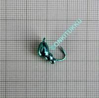 Volframi muurah. 6mm #4 lenkki vihreä