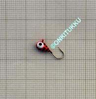Volframi-mormuska 4mm #12 lenkki raidall