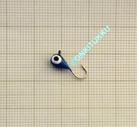 Volframi-mormuska 4mm #12 lenkki sininen