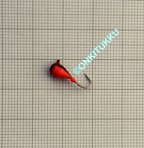 Volframi-mormuska 4mm #12 lenkki hile